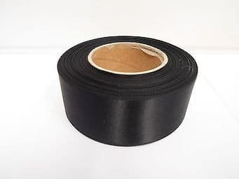 38mm Satin Ribbon 2 metres or 25 metre roll double sided wedding crafts UK